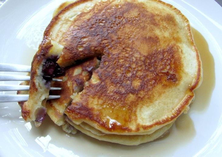 Bb ricotta pancakes bite