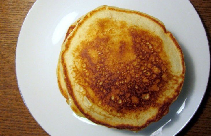 Bb ricotta pancakes top
