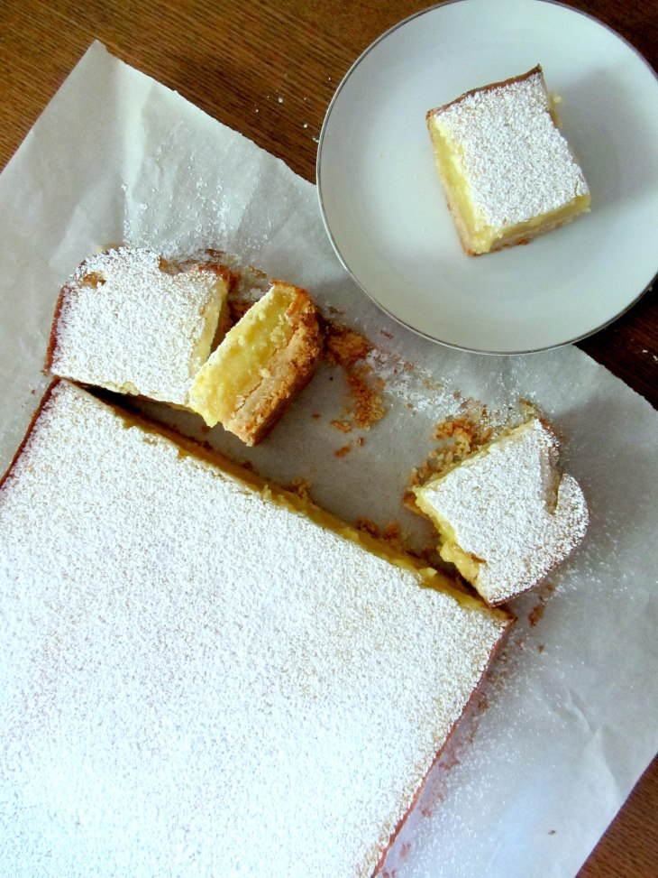 Lemon Bars Top