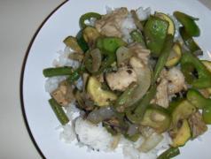 green stir fry