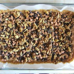 Magic Cookie Bars Walnuts