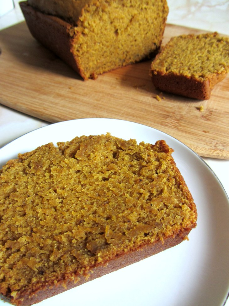 Pumpkin Bread angle