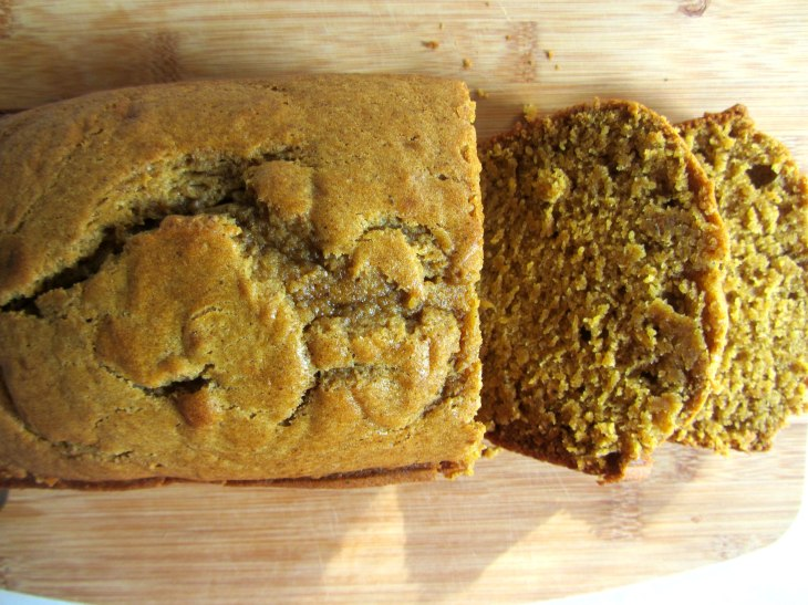 Pumpkin Bread top