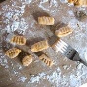Pumpkin Gnocchi fork