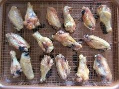buffalo chicken wings rack
