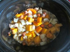 butternut squash soup chunks