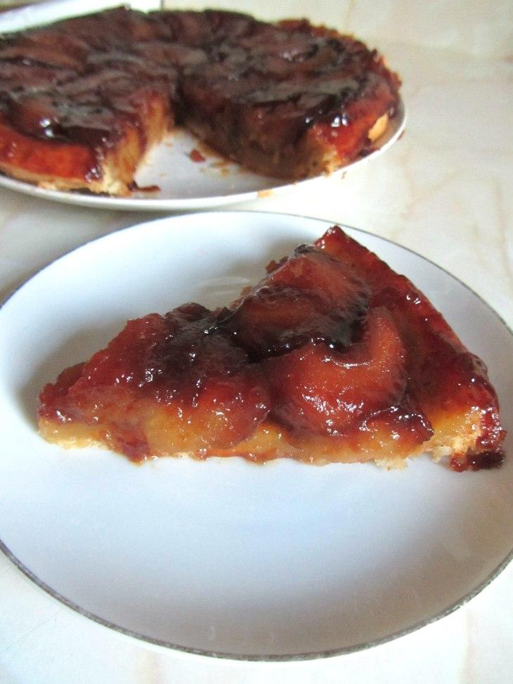 Tarte Tatin slice